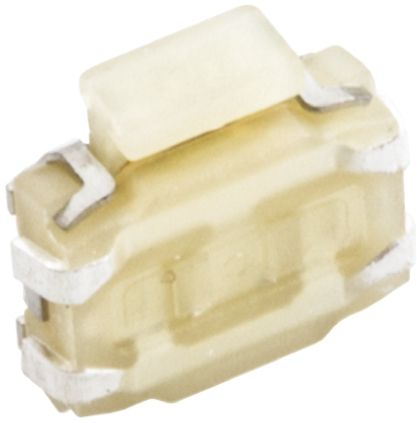 Wurth Elektronik White Tactile Switch, Single Pole Single Throw (SPST) 50 mA @ 12 V dc 2.6mm Surface Mount