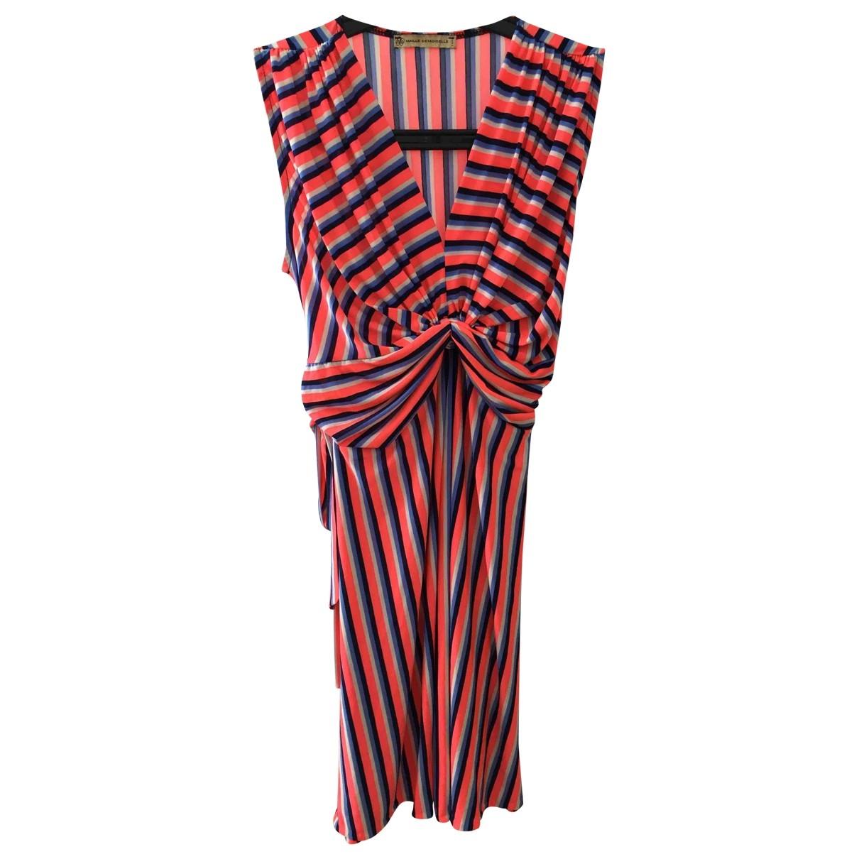 Non Signe / Unsigned \N Kleid in Baumwolle - Elasthan