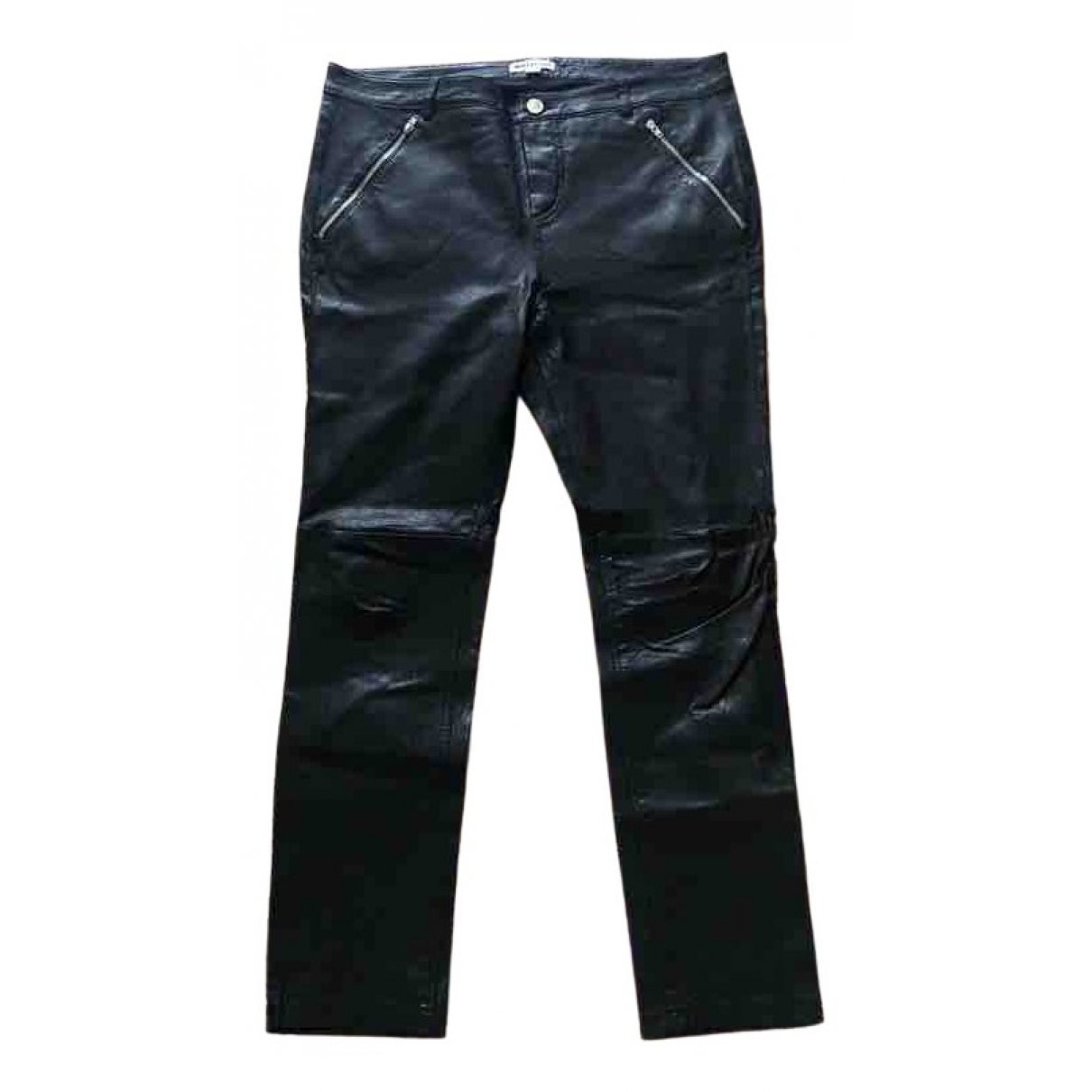 Pantalon de traje de Cuero Whistles