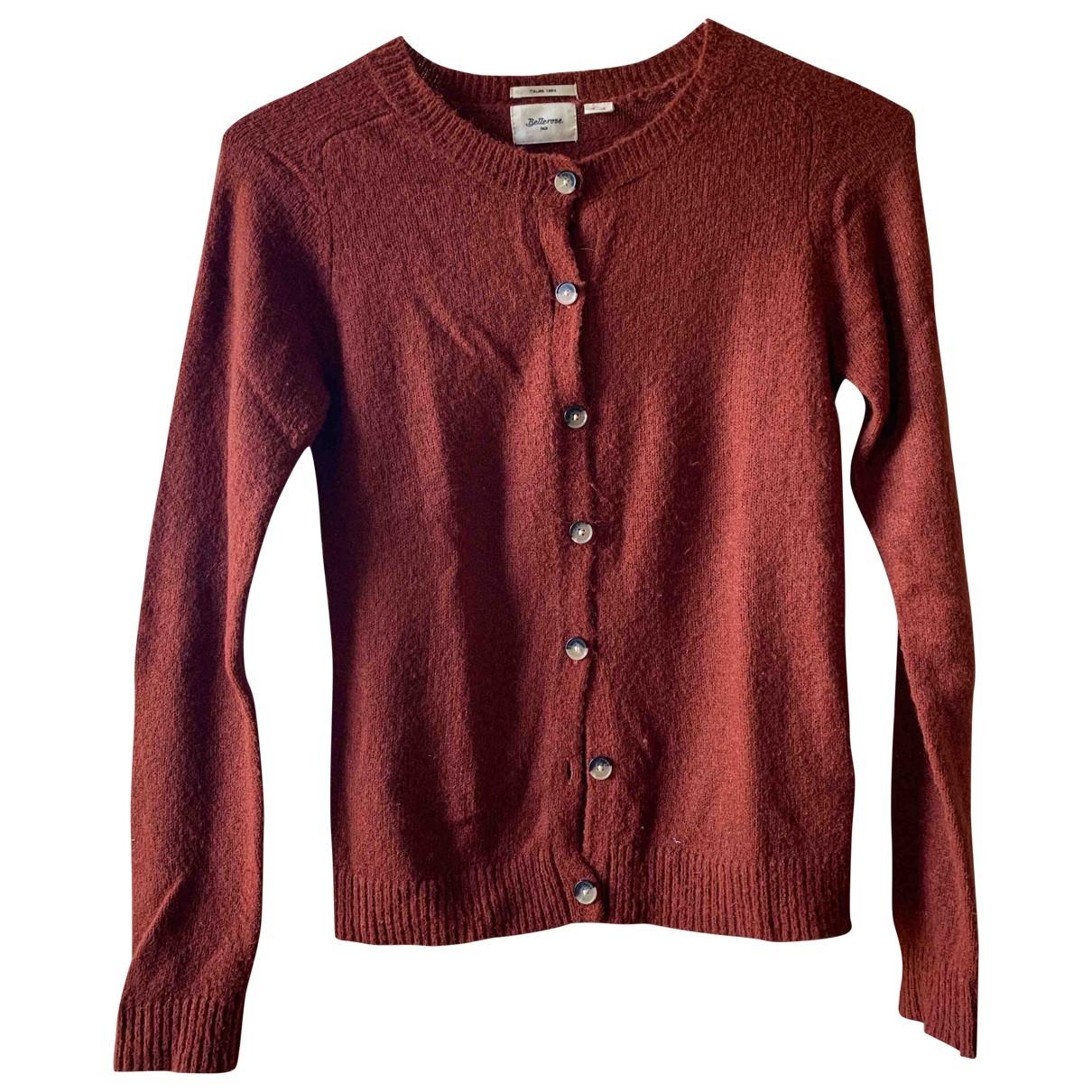 Bellerose \N Pullover in  Braun Wolle