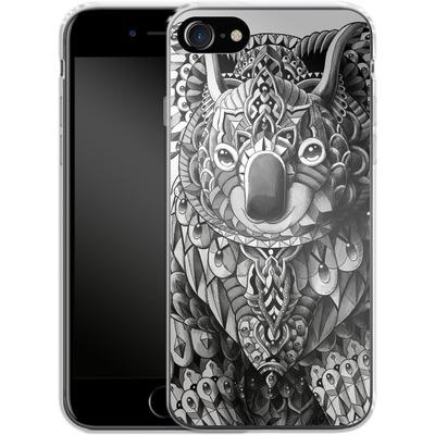Apple iPhone 7 Silikon Handyhuelle - Koala von BIOWORKZ