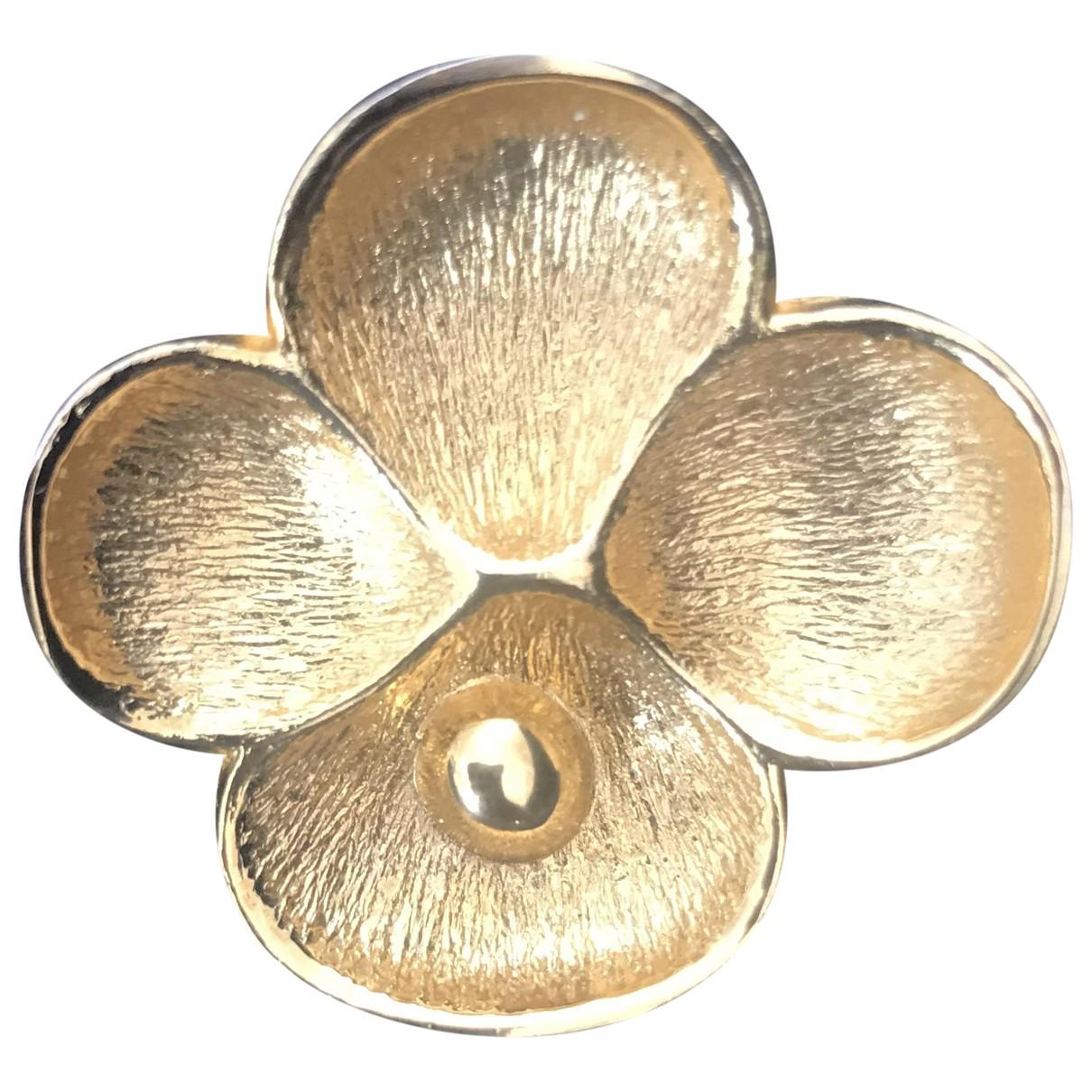 Oscar De La Renta \N Anhaenger in  Gold Metall