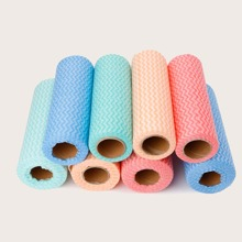 1 Rollen Zufaellige Farbe Einweg Reinigungstuch