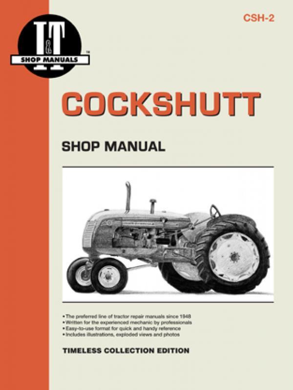 Cockshutt Tractor Models 20-50, Co-op E2-E5, Gambel's Farm Crest 30 Service Repair Manual