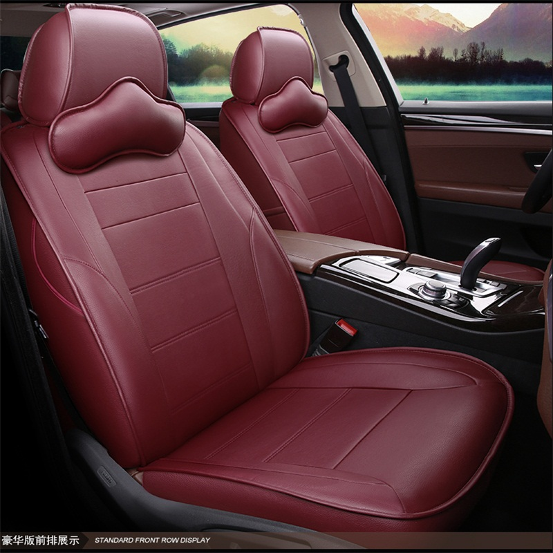 PVC Material Business Style Stripe Patterns Custom Fit Seat Covers