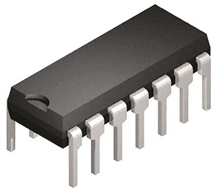 Microchip PIC16F1703-I/P, 8bit PIC Microcontroller, PIC16F, 32MHz, 2048 words Flash, 14-Pin PDIP (10)