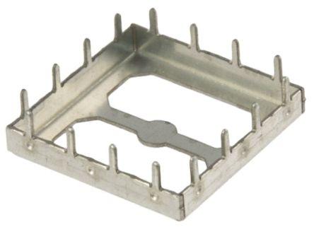 Wurth Elektronik Tin Plated Steel PCB Enclosure, 21 x 21 x 3mm