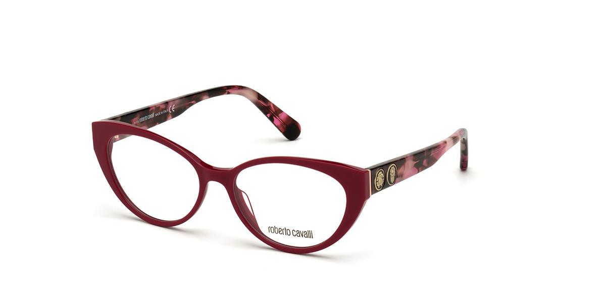 Roberto Cavalli RC 5106 066 Women's Glasses Red Size 52 - Free Lenses - HSA/FSA Insurance - Blue Light Block Available
