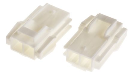 JST , VL Female Connector Housing, 6.2mm Pitch, 2 Way, 1 Row (10)
