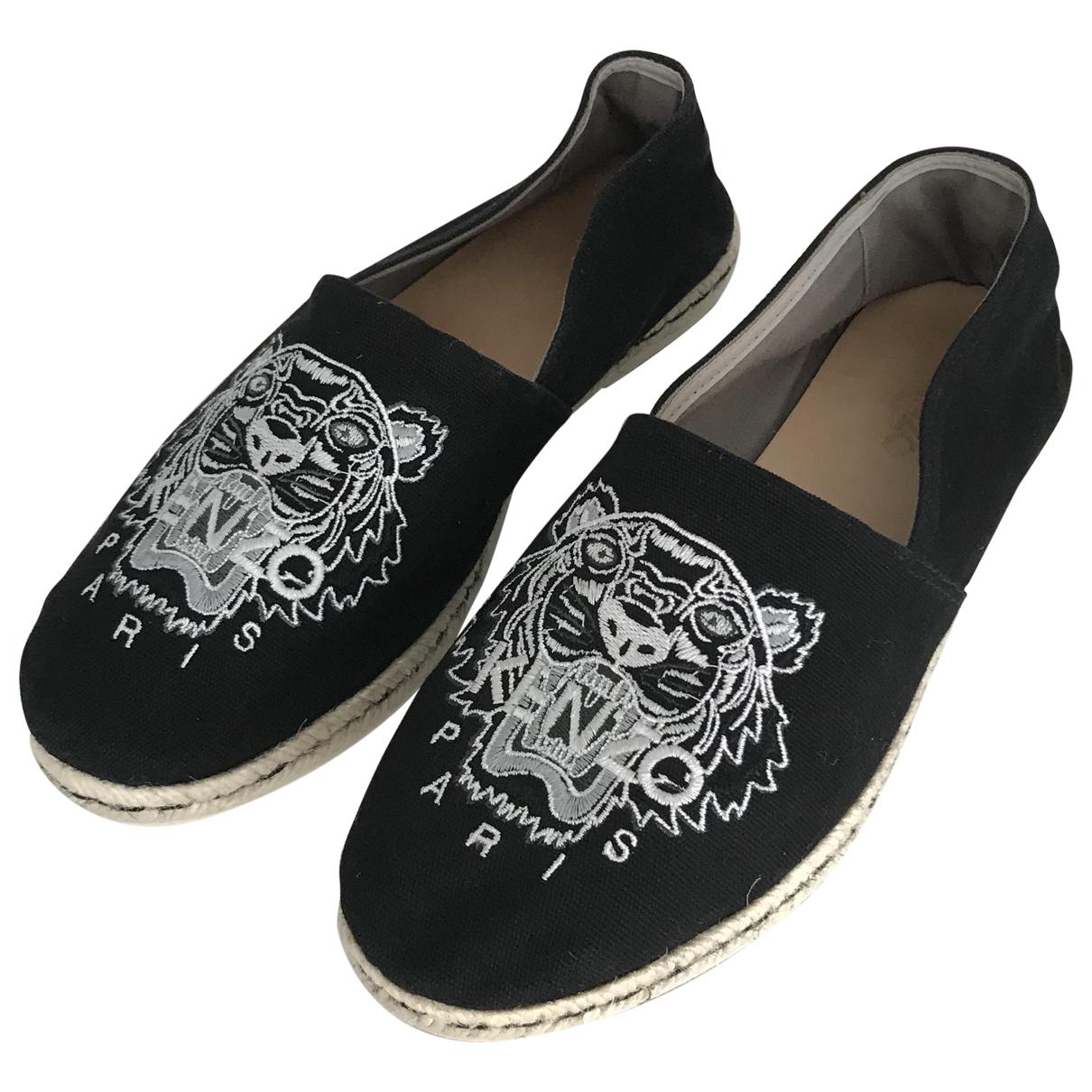 Kenzo \N Black Cloth Espadrilles for Men 43 EU