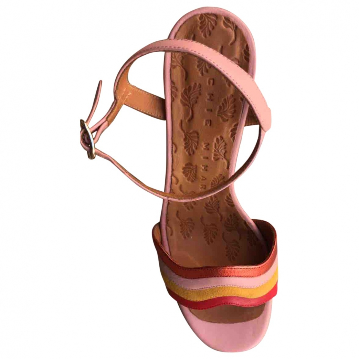 Chie Mihara \N Pink Leather Heels for Women 40 EU