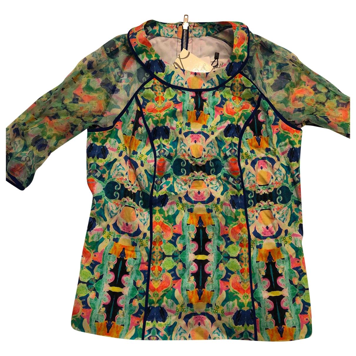 Milly - Top   pour femme en coton - multicolore