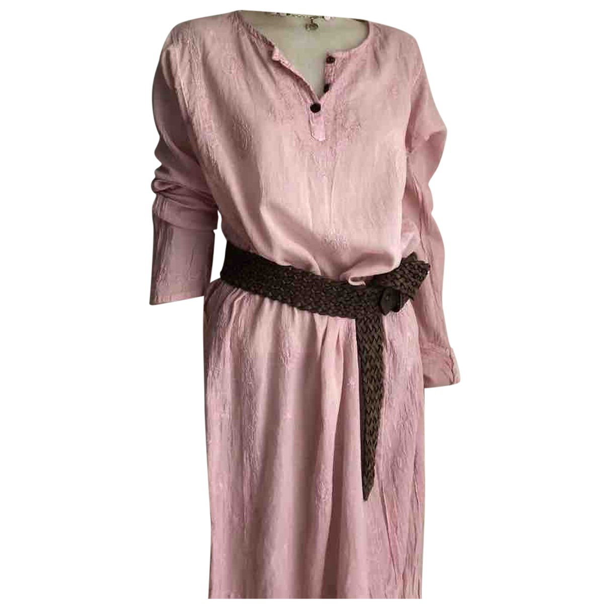 Autre Marque N Pink Cotton dress for Women One Size International