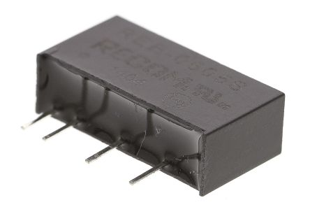 Recom REE 1W Isolated DC-DC Converter Through Hole, Voltage in 4.5 → 5.5 V dc, Voltage out 5V dc