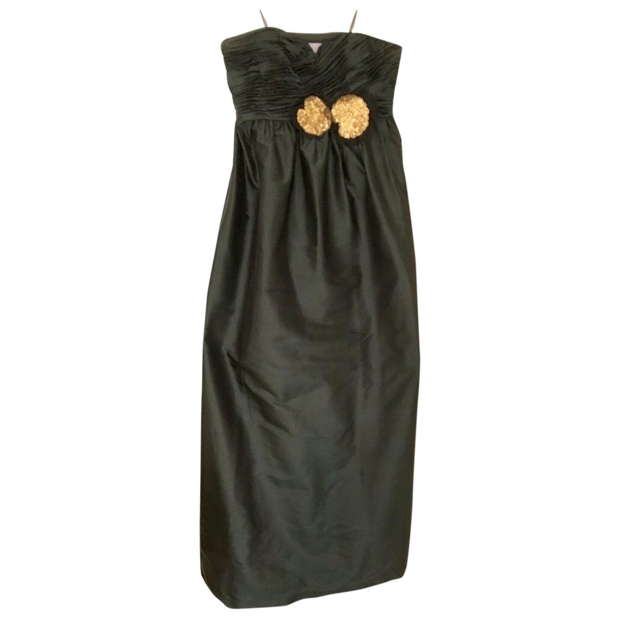 Maxi vestido de Seda Vera Wang