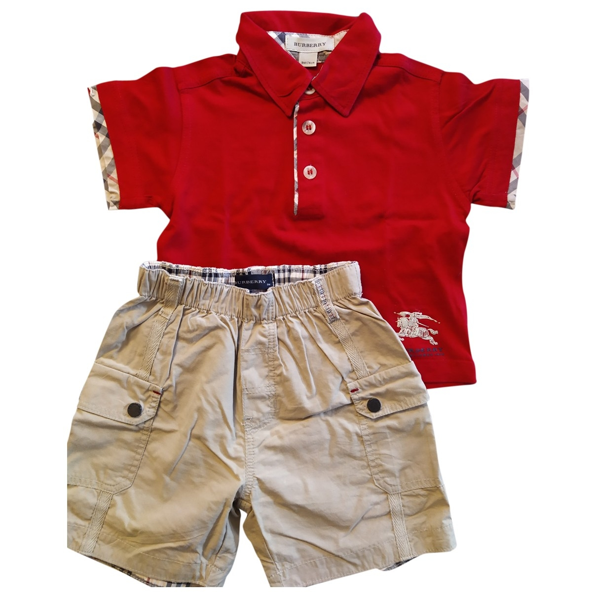 Burberry \N Cotton Outfits for Kids 9 months - up to 71cm FR