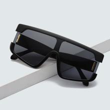 Gafas de sol con tapa plana para hombre