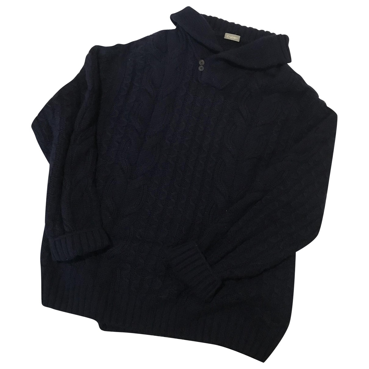 Cruciani \N Pullover.Westen.Sweatshirts  in  Blau Kaschmir