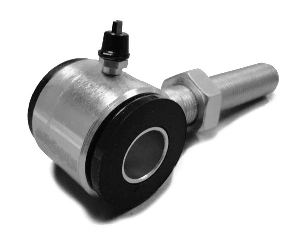 Steinjager J0012573 5/8-18 LH Poly Bushings, Male 9/16 Bore 1.75 Wide Zinc Plated Housing