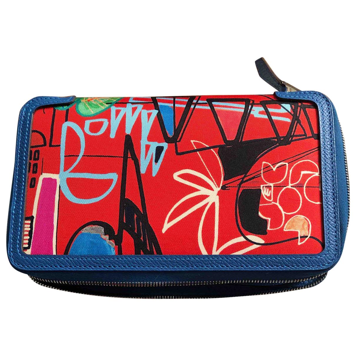 Hermès \N Multicolour Leather wallet for Women \N
