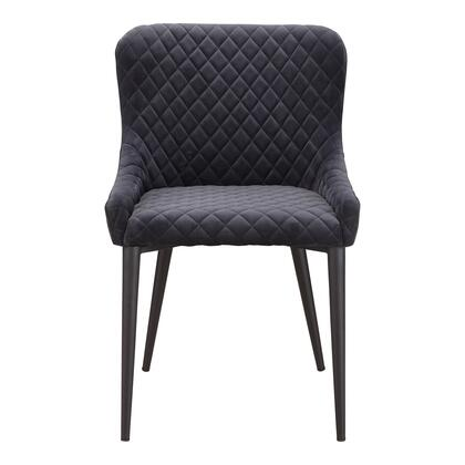 Etta Collection ER-2047-25 Dining Chair with Metal Frame in Gray