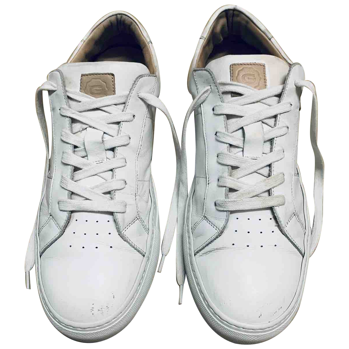 The Great \N White Leather Trainers for Men 43 EU