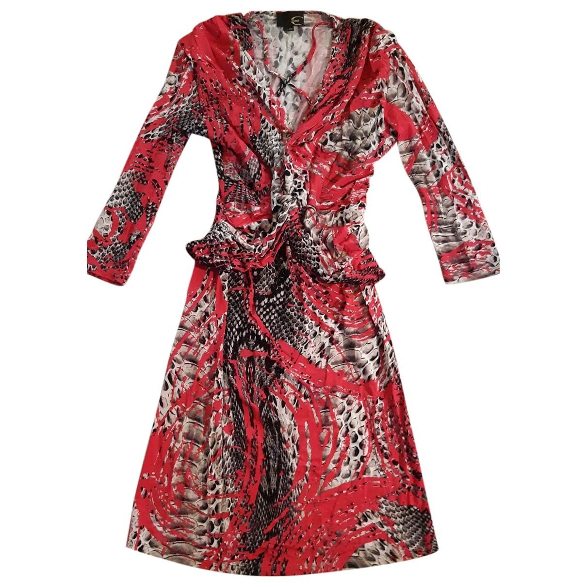 Just Cavalli \N Kleid in  Rosa Viskose