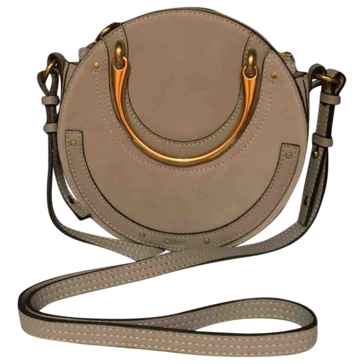 Chloé Pixie Beige Leather handbag for Women \N