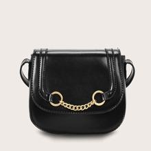 Bolsa sillin con diseño de cadena