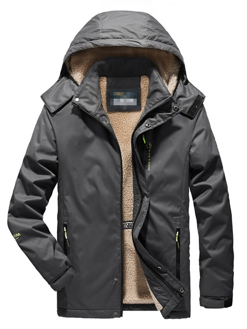 Ericdress Hooded Casual Mens Down Jacket