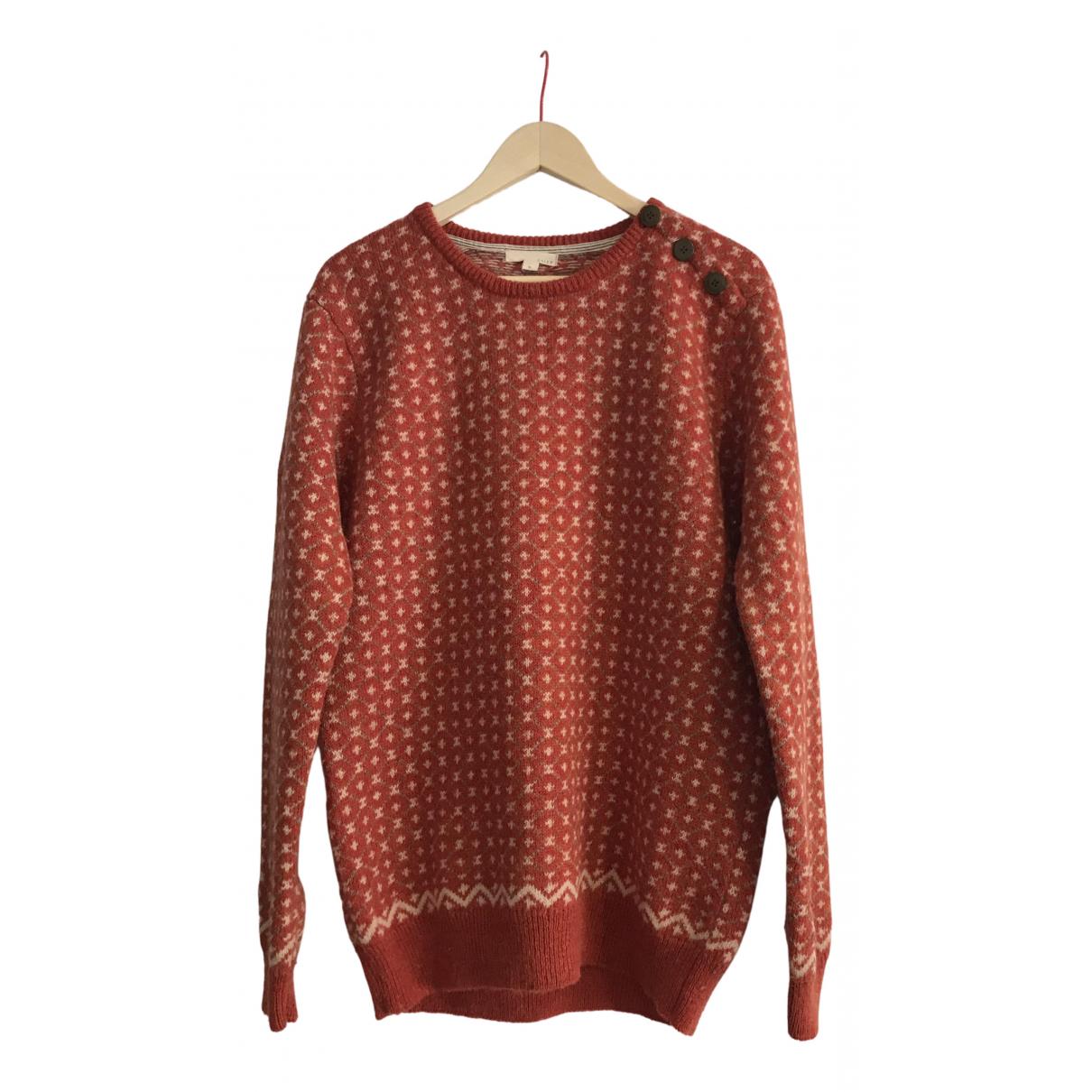 Non Signe / Unsigned \N Pullover.Westen.Sweatshirts  in  Orange Wolle