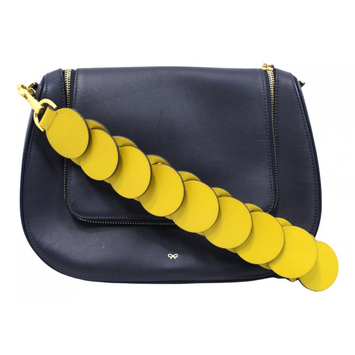 Anya Hindmarch N Navy Leather handbag for Women N