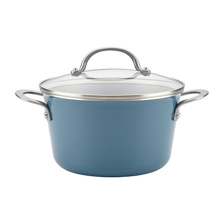 Ayesha Curry Home Collection 4.5-qt. Covered Sauce Pot, One Size , Blue
