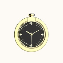 Handyring mit Uhr Design