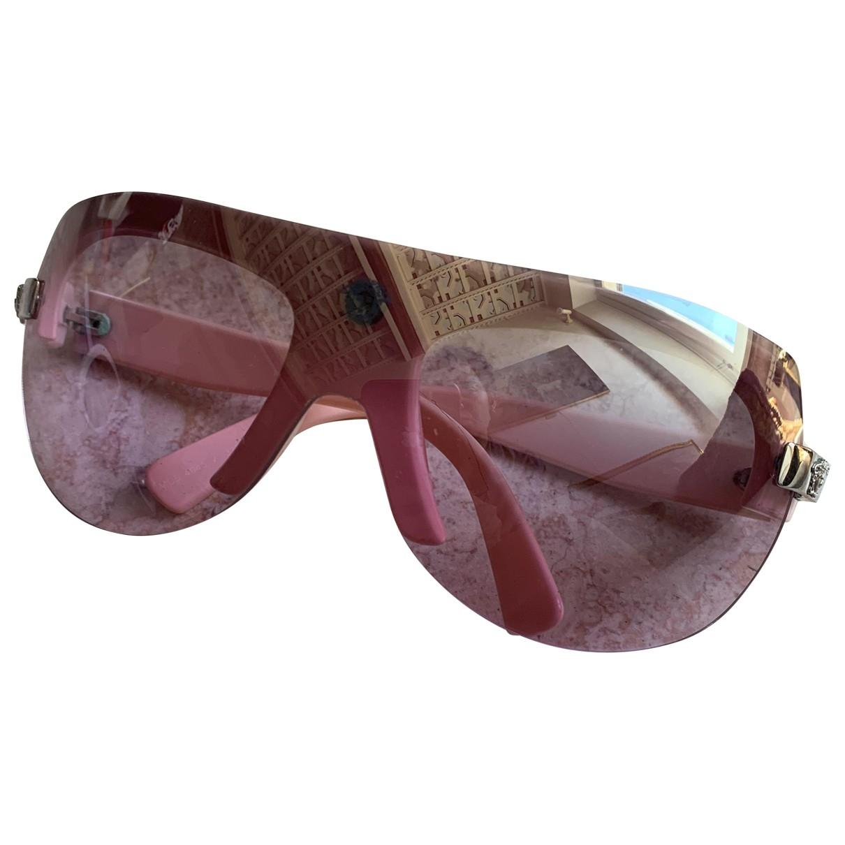 Versace \N Sonnenbrillen in  Rosa Kunststoff