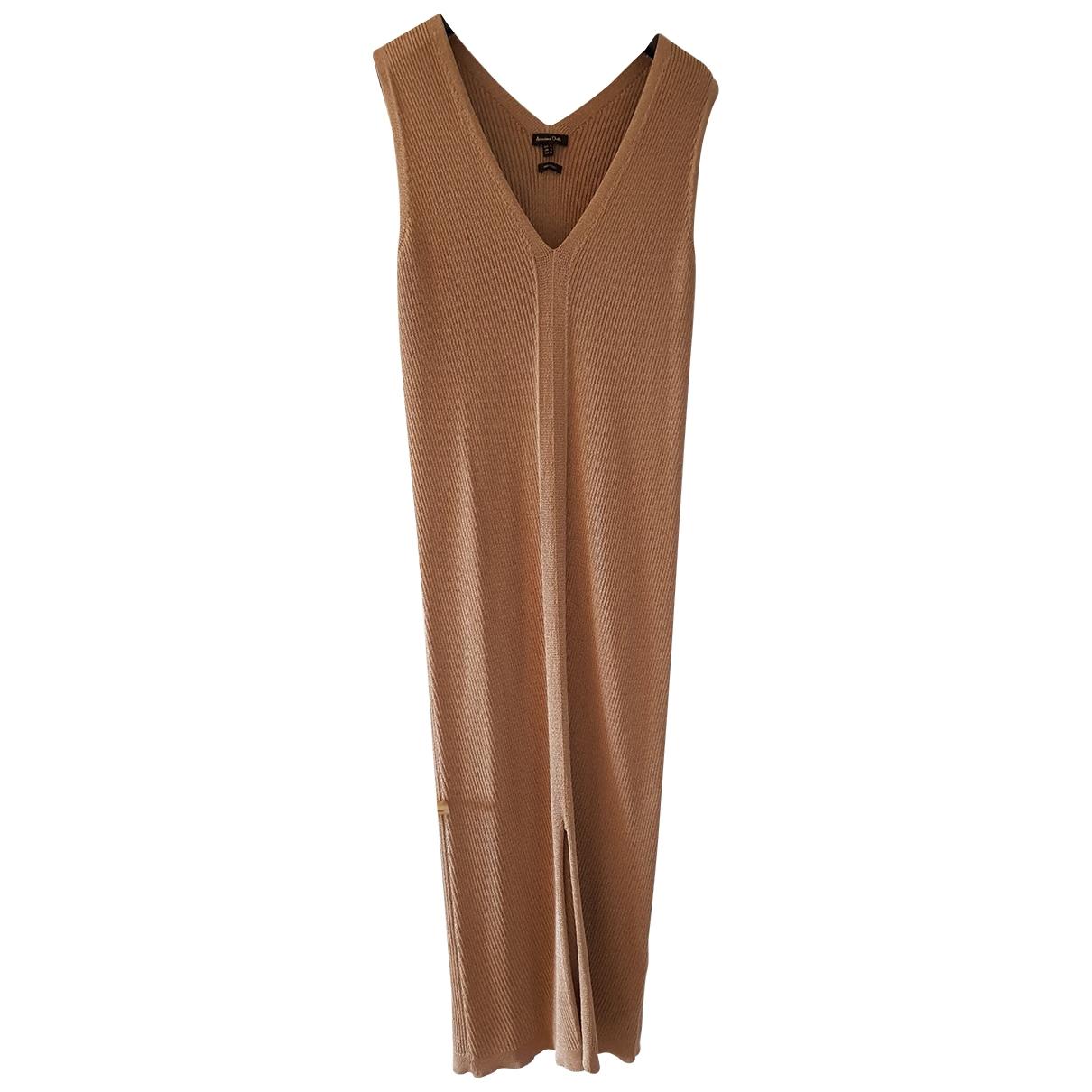 Massimo Dutti - Robe   pour femme - marron