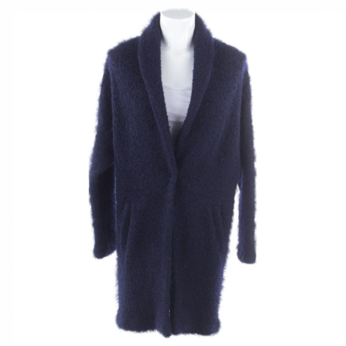 Iq+ Berlin - Veste   pour femme en laine - bleu