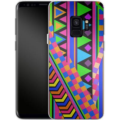 Samsung Galaxy S9 Silikon Handyhuelle - NEON von Bianca Green