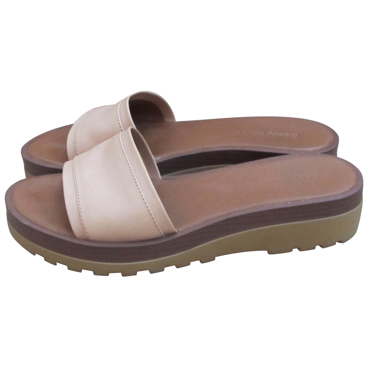 See By Chloé \N Beige Leather Sandals for Women 37 IT