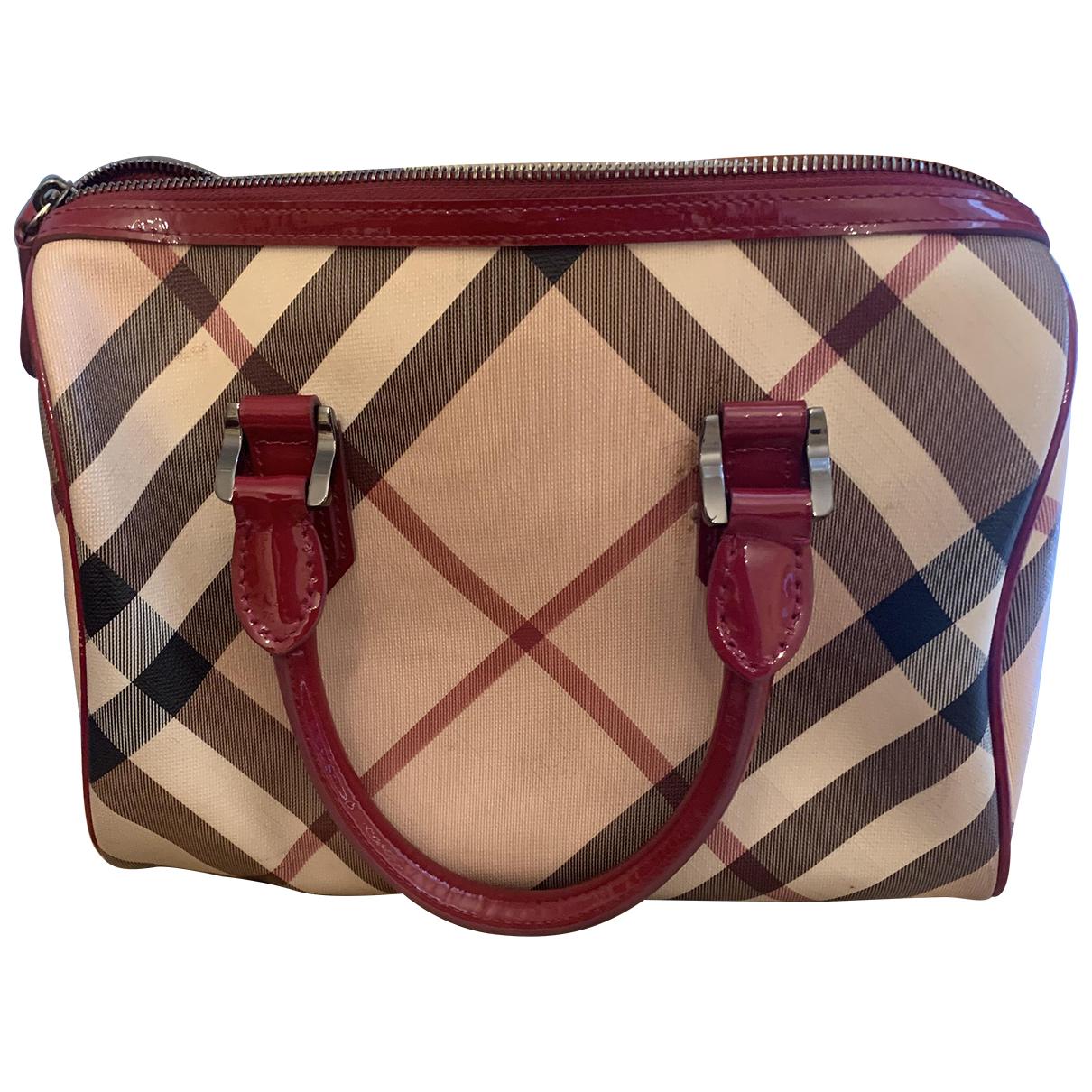 Burberry The Barrel Beige Cloth handbag for Women \N
