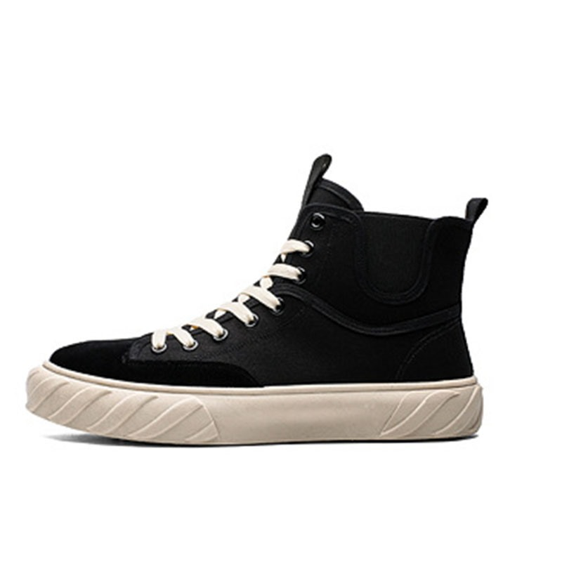 Ericdress Patchwork High-Cut Upper Round Toe Men's Skate Shoes