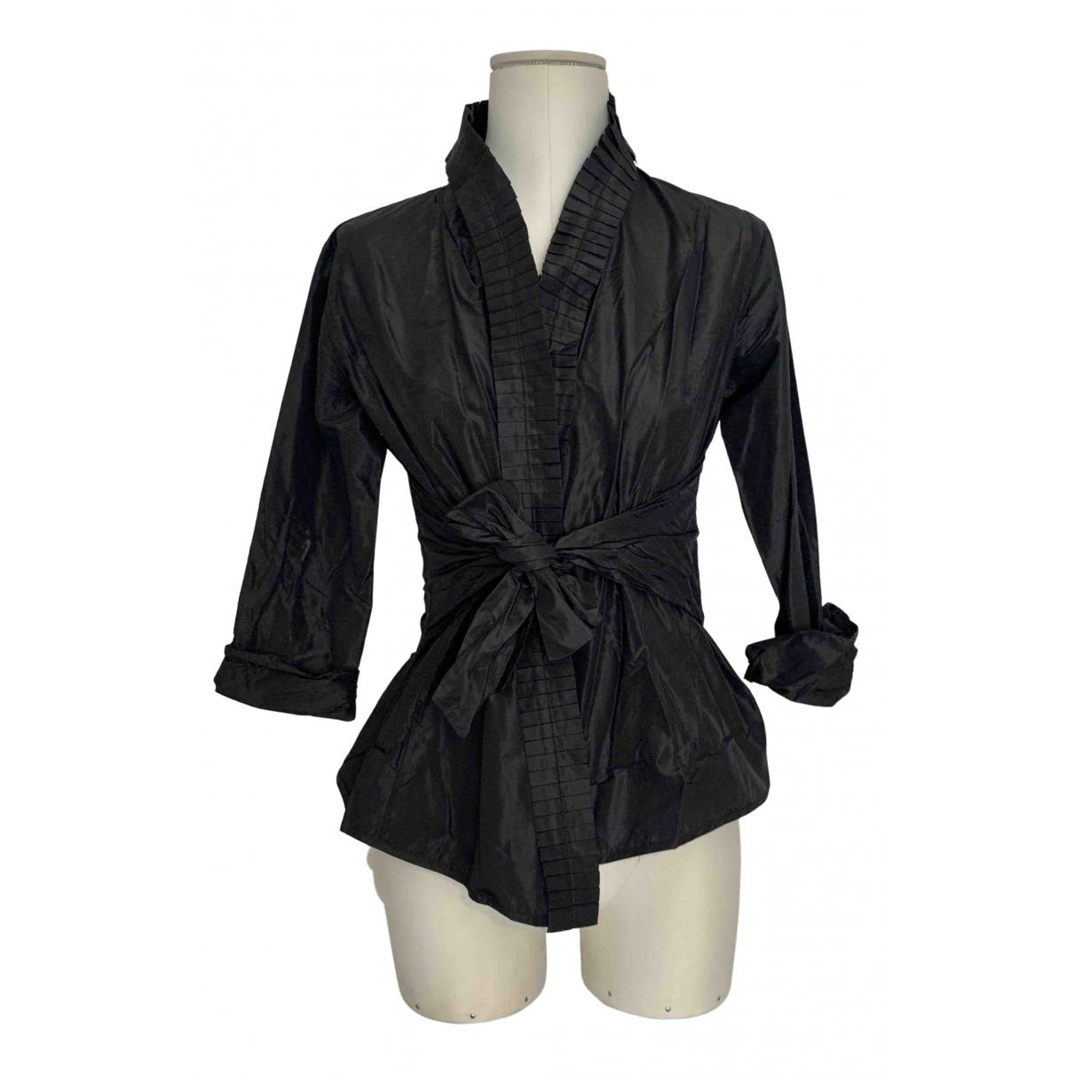 Etro - Top   pour femme en soie - noir
