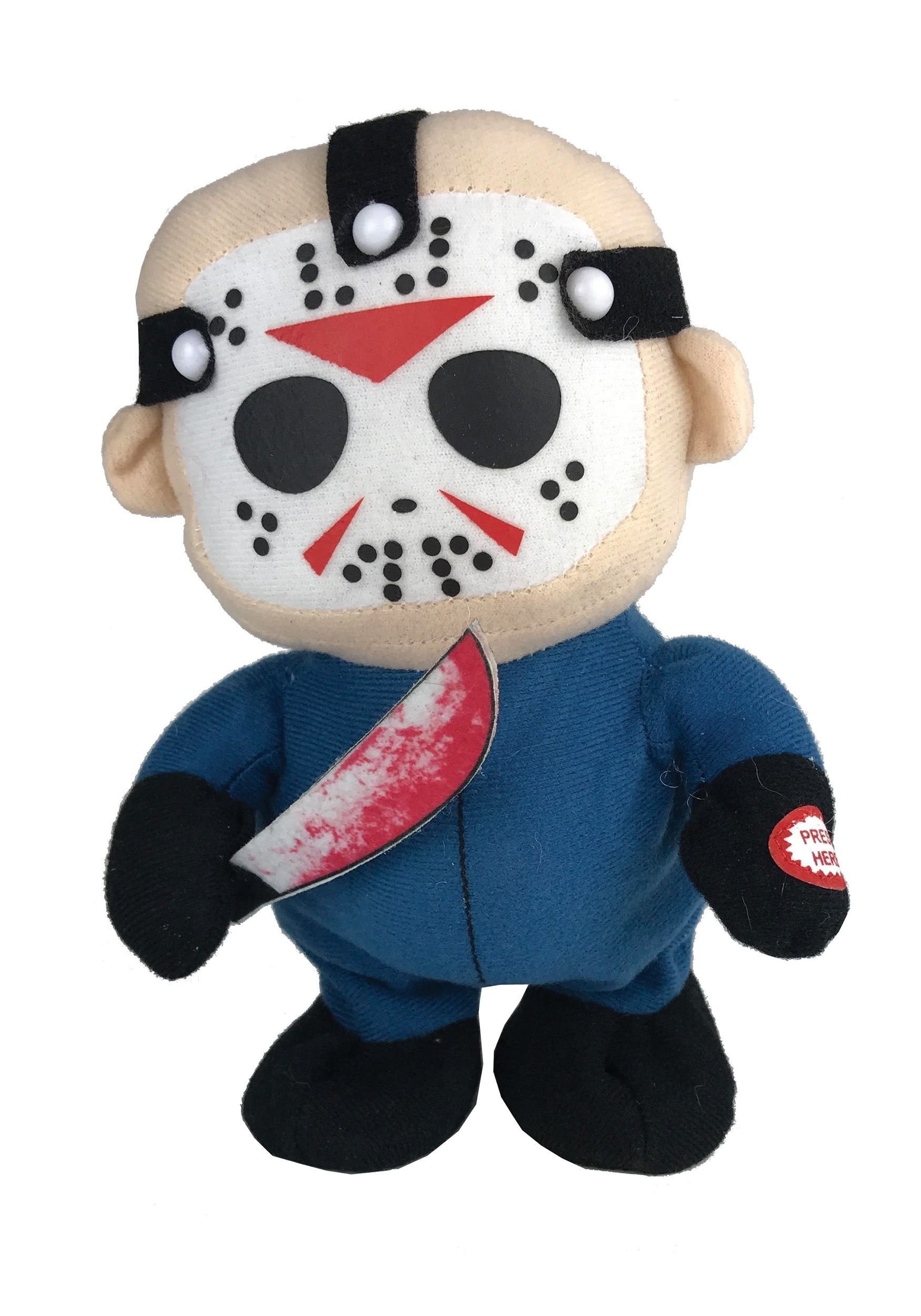 Tiny Terror Horror  - Friday the 13th Jason Walking Plush Doll