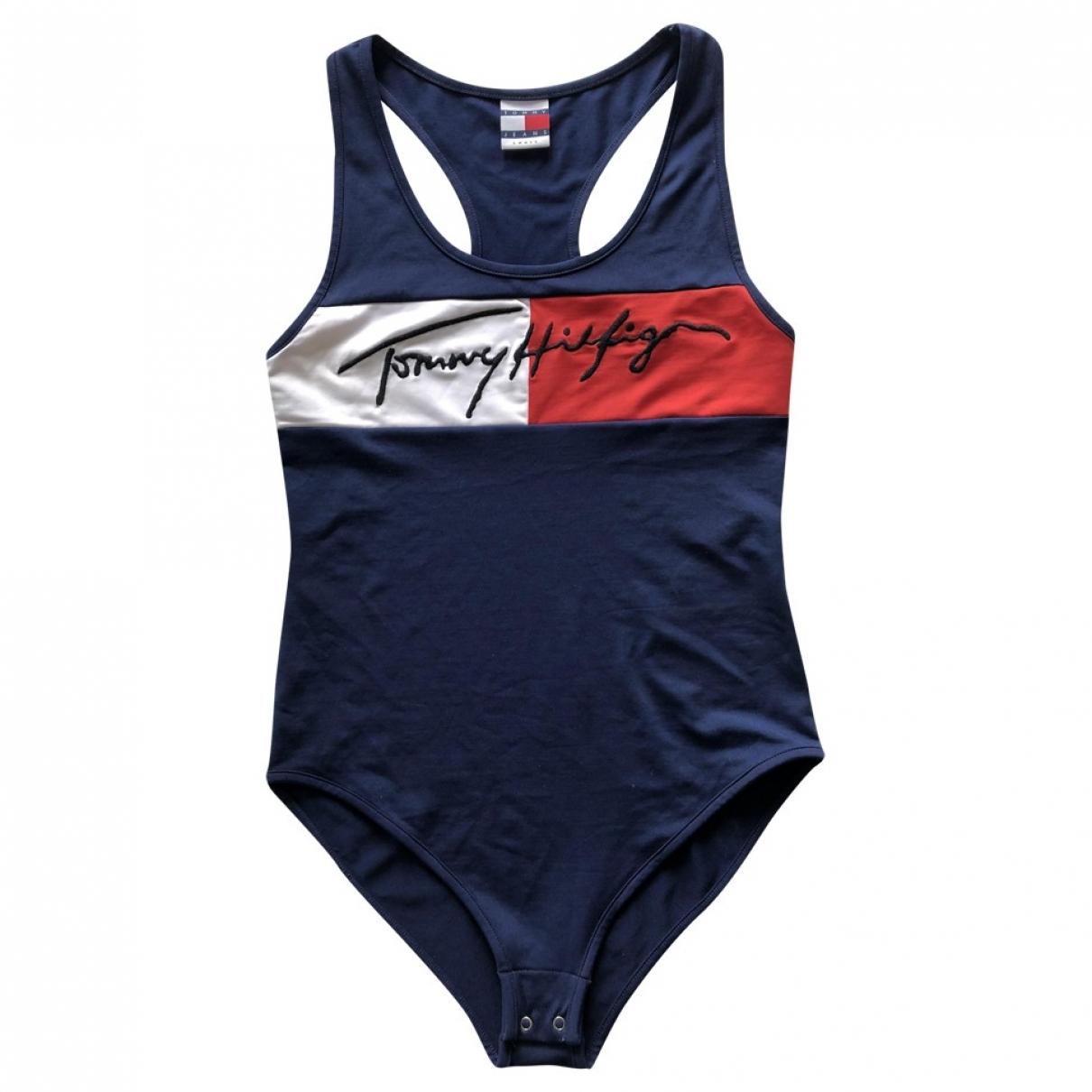 Tommy Hilfiger \N Badeanzug in  Blau Polyester