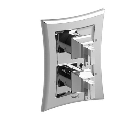 Eiffel TEF88C 4-Way No Share Thermostatic/Pressure Balance Coaxial Valve Trim  in