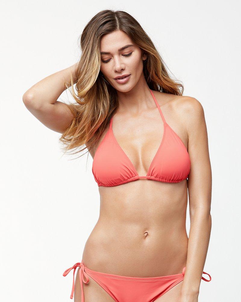 Pearl Triangle Bikini Top
