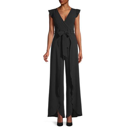 Premier Amour Sleeveless Jumpsuit, 8 , Black