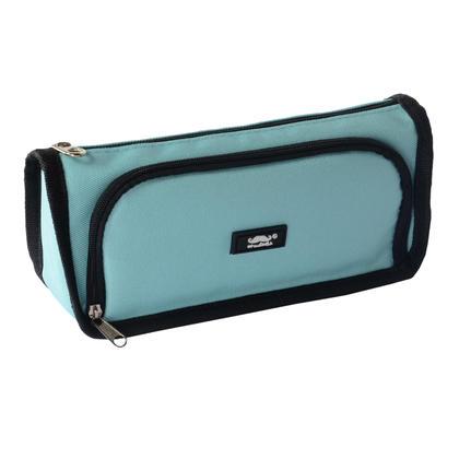 Candy Color Pencil Case with 2 Pockets - Moustache® - Light Blue