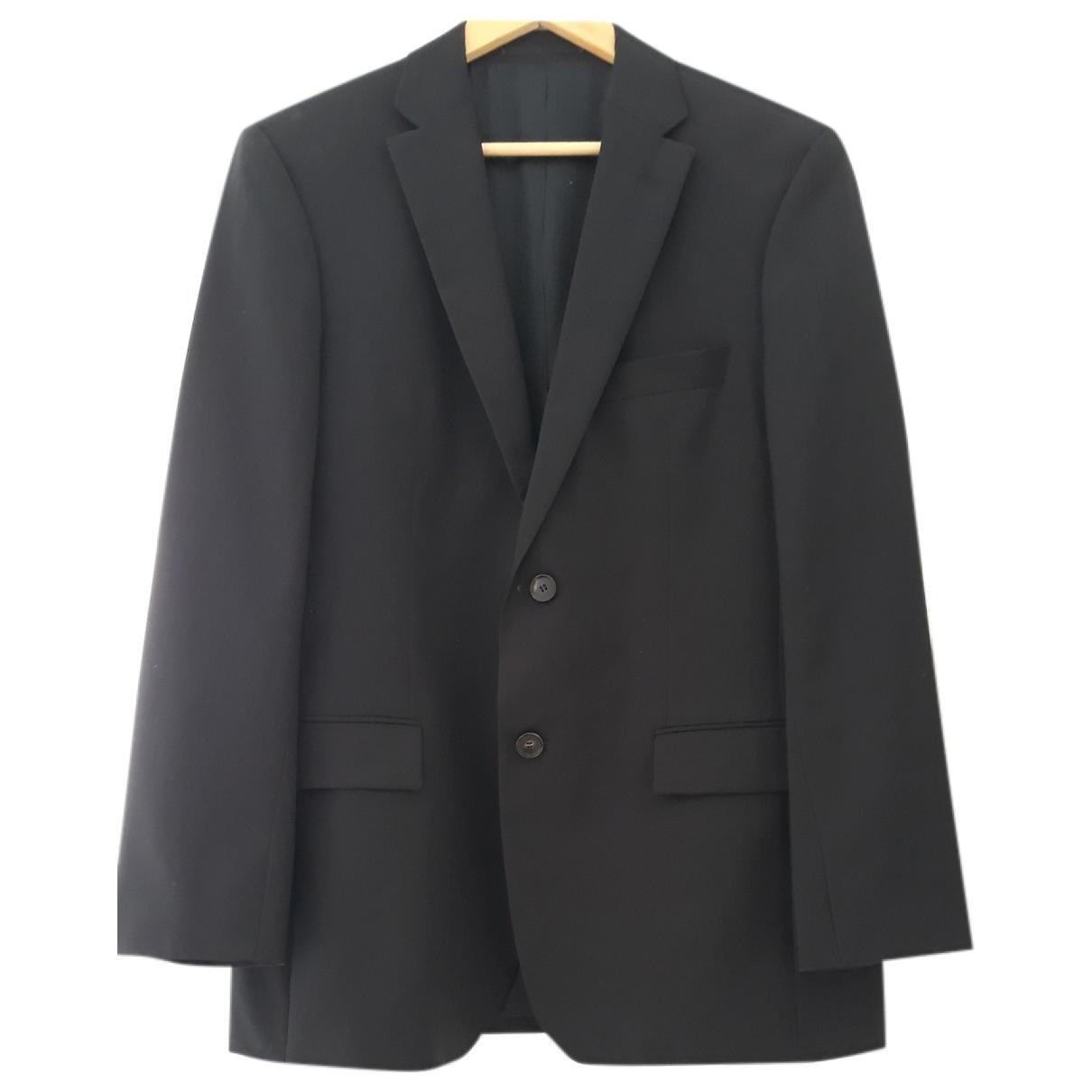 Hugo Boss - Vestes.Blousons   pour homme en laine - noir