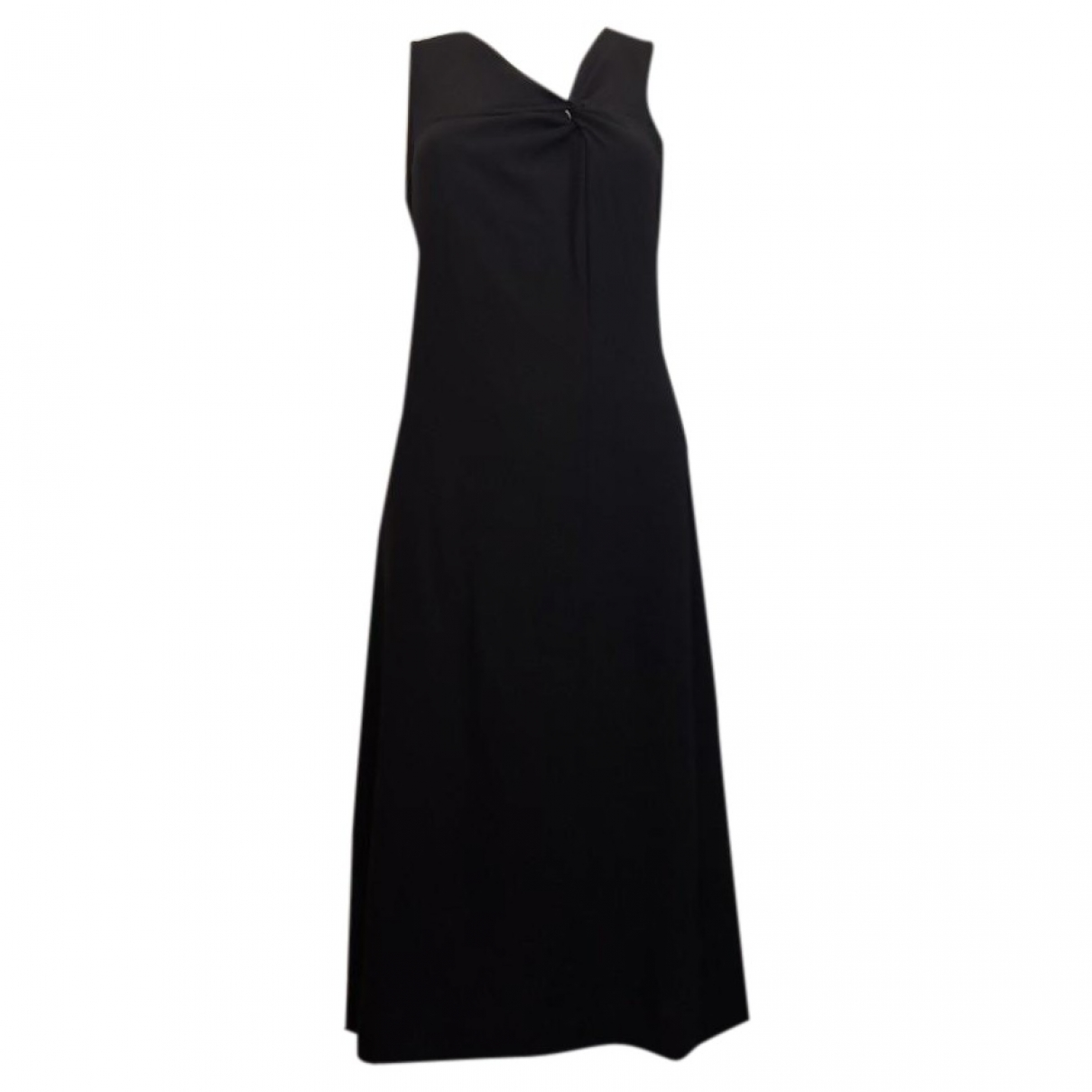 Emporio Armani \N Black Cotton dress for Women 42 IT